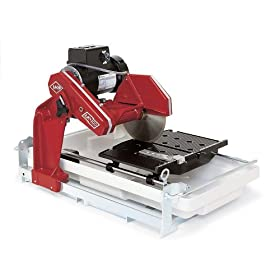 MK Diamond 158189 MK-100 1-1/2-Horsepower 10-inch Wet Tile Saw