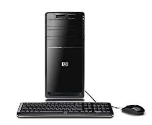 HP Pavilion p6510f Desktop PC - Black
