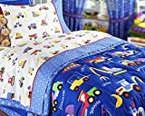 Under Construction Twin Size Cotton Bedding Set by Olive Kids