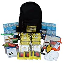 Deluxe Emergency Preparedness Survival Backpack Kits (3 Person) 	 Deluxe Emergency Preparedness Survival Backpack Kits (3 Person)