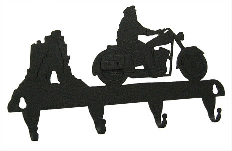HIGHWAY HOG Motorcycle Key Hook
