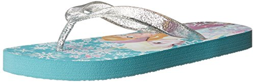 Frozen Toddler Girl's Snowflake Flip Flop