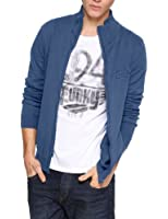 QS by s.Oliver Cardigan Col mao Manches longues Homme