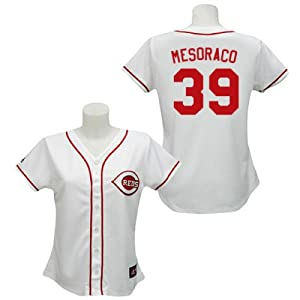 Devin Mesoraco Cincinnati Reds Home Ladies Replica Jersey by Majestic by Majestic