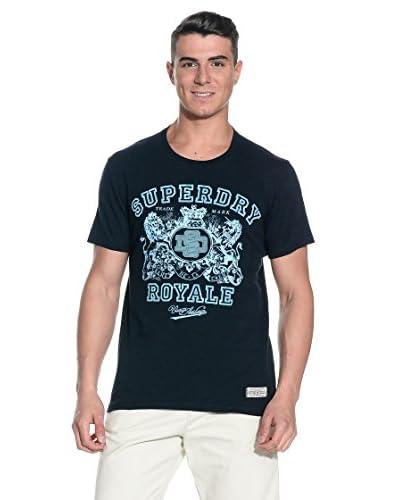 T-Shirt Manica Corta Creme-Creme De La [Blu]