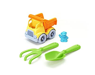 Green Toys Sand & Water Play Dumper Toy with Rake & Shovel from Green Toys