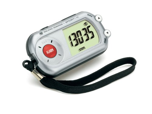Cheap Sportline Walking Advantage 344 Safety Alarm Pedometer (WV3483SL)