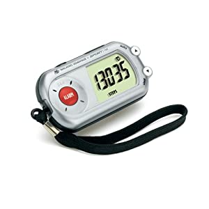 Sportline Walking Advantage 344 Safety Alarm Pedometer