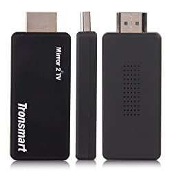 Tronsmart T1000 Mirror2TV Wireless Display HDMI Dongle Support Miracast DLNA EZCAST AirPlay Compatible with Android