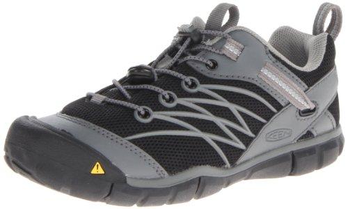 Keen Chandler Cnx Hiking Shoe (Toddler/Little Kid/Big Kid),Black/Gargoyle,9 M Us Toddler front-1070939