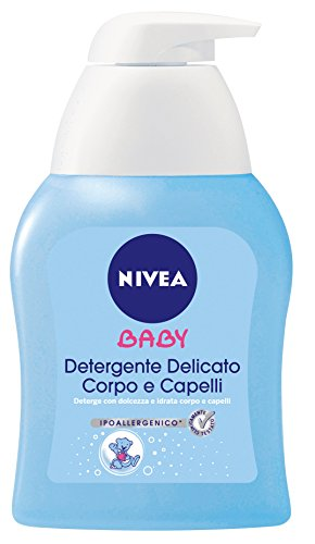 Nivea Baby Care & Cleansing Det.Delic.Corpo&Capelli 250Ml