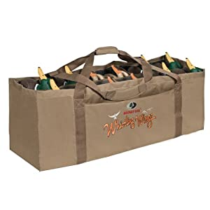 Mossy Oak Whistling Wings Waterfowl Bag (12 Slot) by Mossy Oak Hunting Accessories