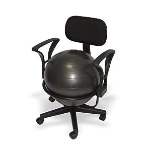 rfm chaise ballon avec accoudoirs hauteur 62cm cuisine maison. Black Bedroom Furniture Sets. Home Design Ideas
