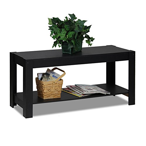 "Furinno Parsons 44.1 "" Tv Stand / Coffee Table - Corner Flat Screen Plasma Televsion Stands Media Console Cabinet Tables"