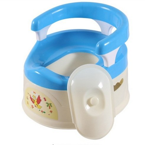 Hhobake Portable Baby Potty,Kid's Potty Training Seat,Children Potty Toys,Tot Training Walk,Kid's Toilet Training,For 0-5 Years Old Boys and Girls(Blue) (Potty Pot compare prices)