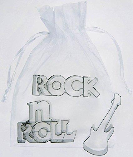 Ausstechformen-Set-Rockn-Roll-Schnes-Geschenk-fr-Musiker