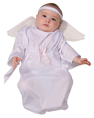 Baby Bunting Costume Angel, Angel, 0-9 Months