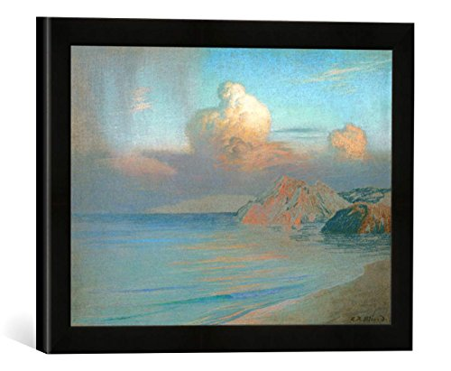 gerahmtes-bild-von-emile-rene-menard-le-nuage-kunstdruck-im-hochwertigen-handgefertigten-bilder-rahm