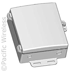 NEMA6 Weatherproof Die Cast Aluminum Enclosure and Hinged Cover.