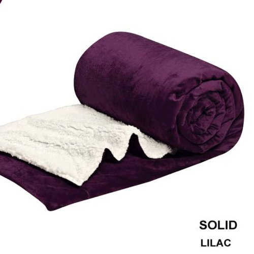 Purple Plush Blanket front-993752
