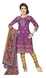 Sanjeeban Fashion Studio Women's Cotton Dress Material (FE_72_Multi-Coloured_Free Size)