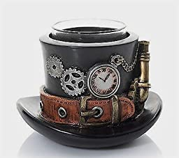 Yankee Candle Steam Punkin Gears Hat Votive Holder by Yankee Candle