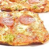 【320】【業務用 訳あり】10枚のミニサイズの角ピザ(約50g)