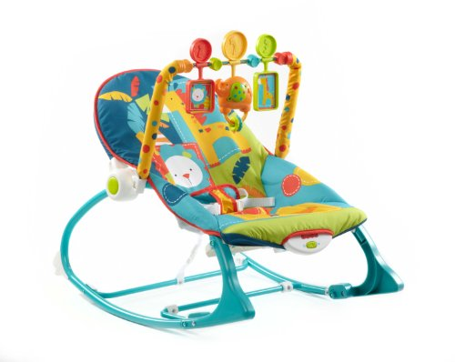 Discover Bargain Fisher-Price Infant-To-Toddler Rocker, Dark Safari