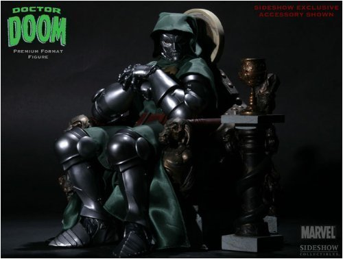 Buy Low Price Sideshow MARVEL Polystone Collectibles: Doctor Doom Exclusive Edition Premium Format Figure Sideshow Collectibles! (B001M4NA50)