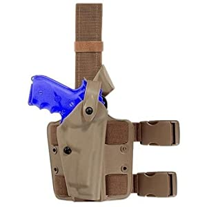 Safariland Model 6004 Tactical Holster for Pistols (Left Hand, STX Black)