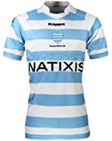 Véritable Maillot de match - RACING METRO 92 - Collection officielle - Kappa - TOP 14 - Taille adulte