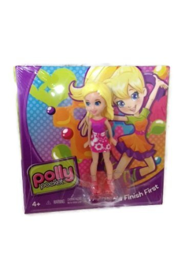 Polly Pocket Girl Figure w/ DVD