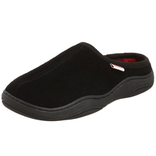 Tamarac by Slippers International Men's 8117PF Irish Clog Slipper,Black,11 M US