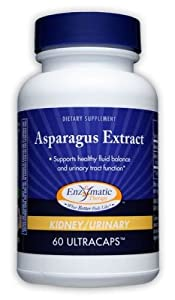 Asparagus Extract 200 mg, 10:1 Pure, 60 Capsules - Endorsed by Dr. Ray Sahelian