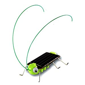 OWI Frightened Grasshopper Kit - Solar Powered