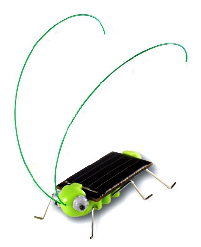 Solar Powered Frightened Grasshopper Kit 