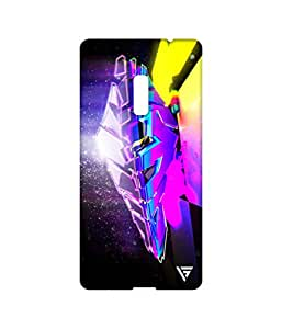 Vogueshell Graffiti Design Printed Symmetry PRO Series Hard Back Case for Oneplus Two