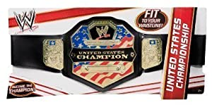 Mattel Toy WWE United States Championship Wrestling Belt