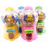 Mini Gumball Machine - Fun Sweets Dispenser - Various Colours