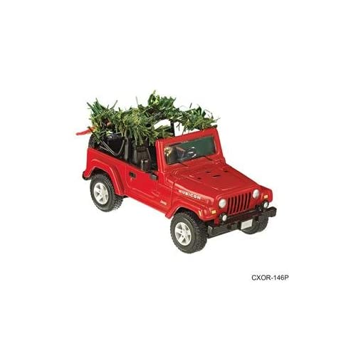 Jolly Jeep Wrangler 2006 Carlton Cards Christmas Ornament