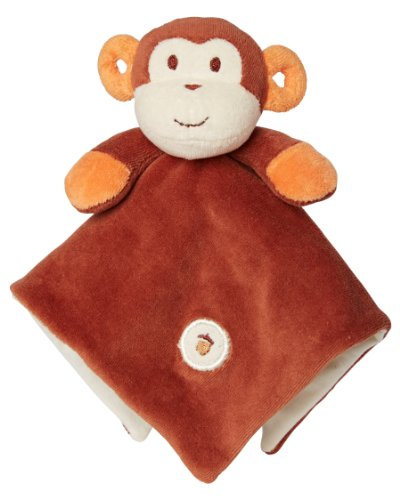 My Natural Lovie Blankie, Brown Monkey front-33459