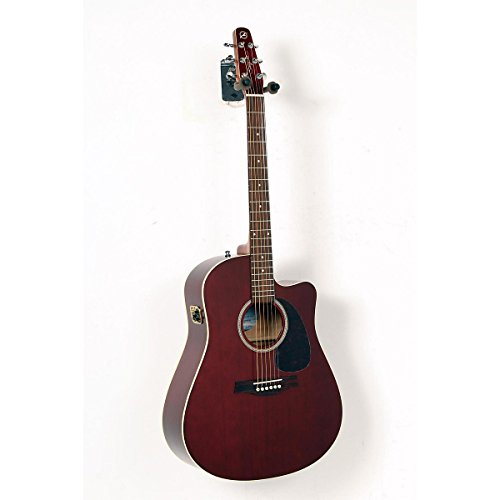 Seagull Entourage Cw Gt Qi Acoustic-Electric Guitar Burgundy 888365259390