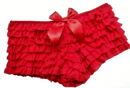 DangerousFX Women's Frilly Manga Show Burlesque Hipster Knickers Panties
