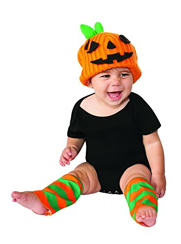 Rubie's Costume Co Baby's Pumpkin Costume Kit, Orange, 6-12 Months