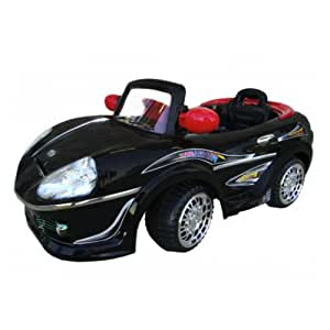 Silver Ride on Remote Control R/c Power Wheels Car Mp3 Connection Wireless Radio Remote for Parent & Foot Pedal Driven for Kid 2 Step Vehicle