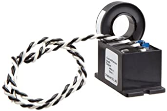 CR Magnetics CR9550-20-M Current Sensor with Mounting Case, 20 AC, +/-0.5% Accuracy, 50 - 400 Hz Frequency
