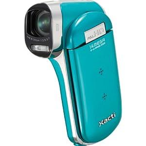 SANYO デジタルムービーカメラ Xacti CG100 ブルー DMX-CG100(L)