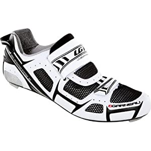 Louis Garneau 2012/13 Tri-Lite Triathlon Cycling Shoes - White - 1487088 -019 (44.5)