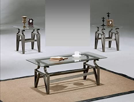 Brand New 3-pk Triad Coffee Table (1)and End Table (2) Cocktail set