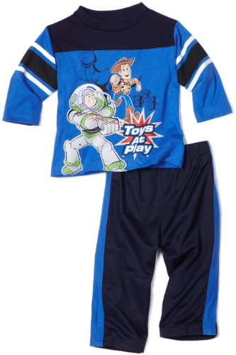 Disney Toy Story 3 Baby-boys Infant Toys At Play Clothing Set